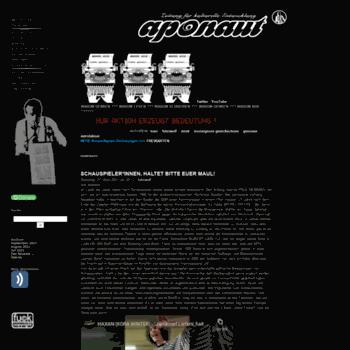 Aponaut.org thumbnail