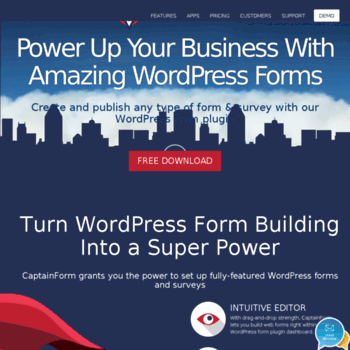 app captainform com at WI  WordPress Forms: Free WordPress