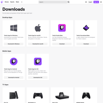 app twitch tv at Website Informer  Twitch  Visit App Twitch