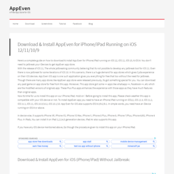 appeven net at WI  AppEven iOS app | Dowload App Even for