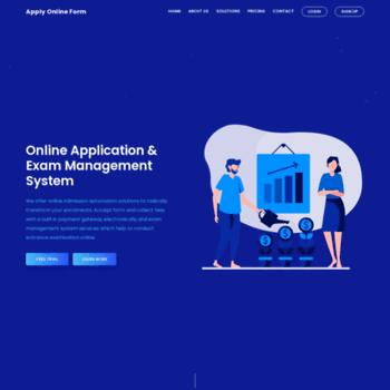 applyonlineform com at WI  Exam Management System | Online