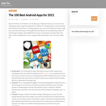 Apps-top.com thumbnail
