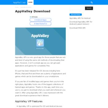 appvalleydownload com at Website Informer  Visit