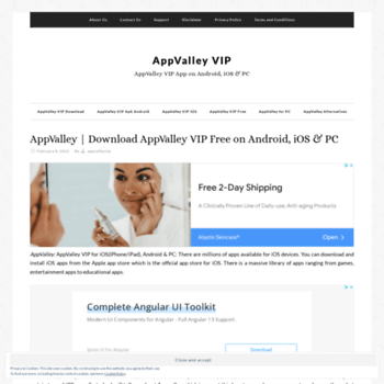 appvalleyvip com at WI  AppValley VIP Free | Download AppValley App