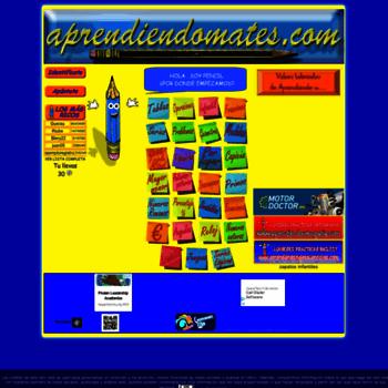 aprendiendomates.com at WI. EJERCICIOS ONLINE DE MATEMATICAS PARA ...