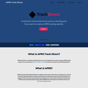 aprsdirect.com at WI. APRS Direct - Online Real-time APRS Map on