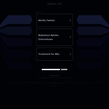 Бесплатный анализ сайта apteka.info