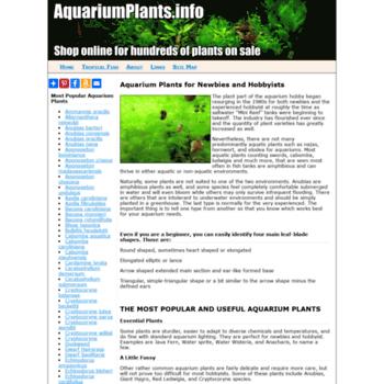 Aquariumplants.info thumbnail