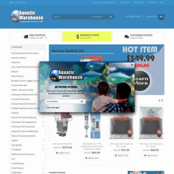 aquaticwarehouse com at WI  Freshwater/Saltwater Fish Tank Supplies