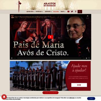 Arautos.org thumbnail