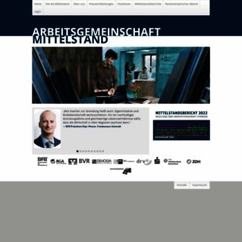 Arbeitsgemeinschaft-mittelstand.de thumbnail