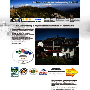 Arber-ferienwohnung-friedl.de thumbnail