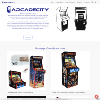 Arcadecity.co.uk thumbnail