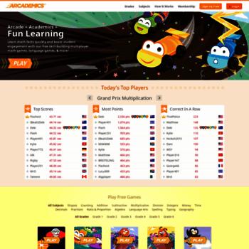 Arcademics.com thumbnail