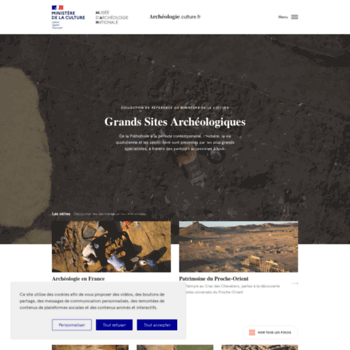 Archeologie.culture.fr thumbnail