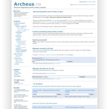 Archeus.ro thumbnail