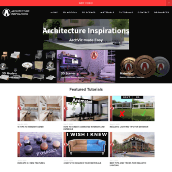 archinspirations com at WI  Architecture Inspirations