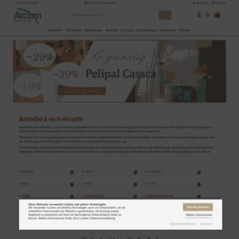 Badkeramik De.Arcom Center De At Wi Badmobel Von Pelipal Puris Und Marlin