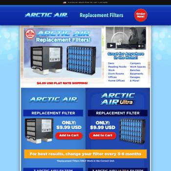 Arcticairfilter.ca thumbnail