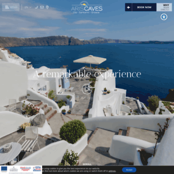 Ariscaves Gr At Wi Santorini Hotels Aris Caves Oia Hotel