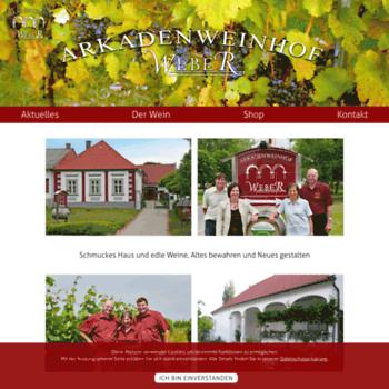 Arkadenweinhof.at thumbnail