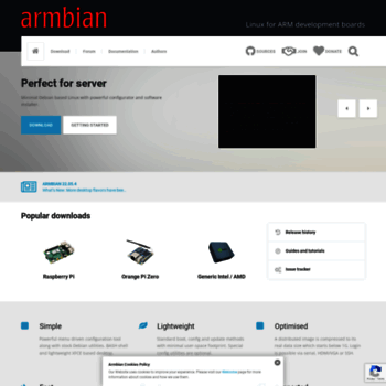 armbian com at WI  Armbian – Linux for ARM development boards
