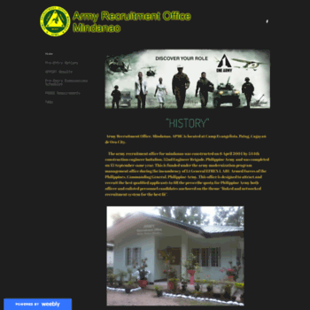 Armyrecruitmentmindanao.weebly.com thumbnail