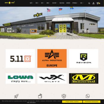 10e23e1341ec armyshop.sk at WI. ARMY SHOP SK - Najväčší ARMY SHOP na Slovensku