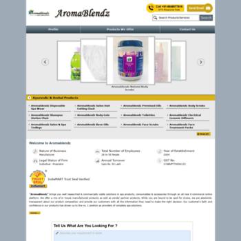 Aromablendz.net thumbnail