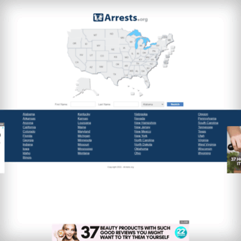 Arrests.org thumbnail