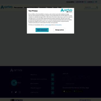 Arrivabus.co.uk thumbnail