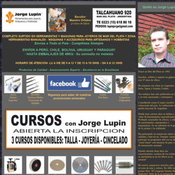 faa6c134edbd Arteytecnica.com.ar thumbnail. Daily visitors  534. Daily pageviews  534.  Alexa Rank  2851493. HERRAMIENTAS JOYERIA HERRAMIENTAS ARTESANOS JORGE ...