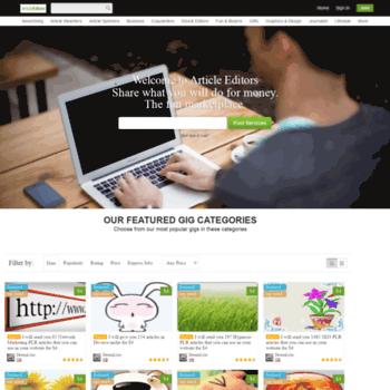 Articleeditors.com thumbnail