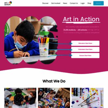Artinaction.org thumbnail