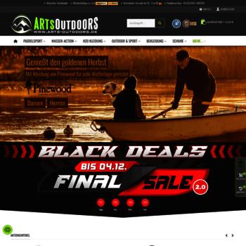 43bafa95f54f9c arts-outdoors.de at WI. Der günstige Outdoor Shop im Internet ...