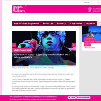 Artsandbusiness.org.uk thumbnail