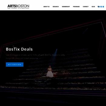 Artsboston.org thumbnail