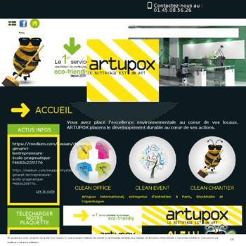 Artupox.fr thumbnail