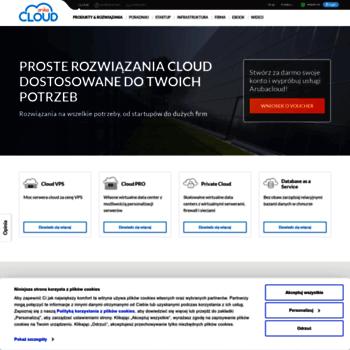 arubacloud pl at WI  Cloud Computing, Serwery PRO & VPS