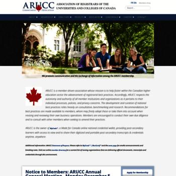 Arucc.ca thumbnail