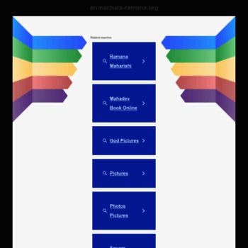 Arunachala-ramana.org thumbnail