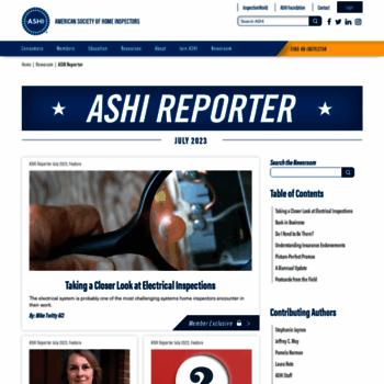 Ashireporter.org thumbnail