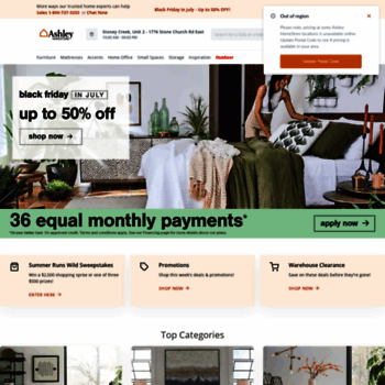 ashleyhomestore.ca at WI. Ashley Furniture HomeStore - Canada on ashley amazon, ashley warehouse, ashley recliners, ashley sectional, ashley sofa, ashley furniture,