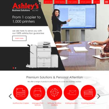Ashleysbusinesssolutions.net thumbnail