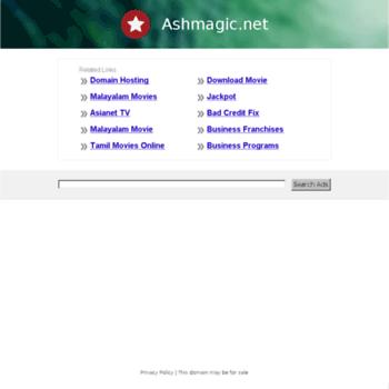 Ashmagic.net thumbnail