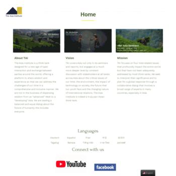Asia-institute.org thumbnail