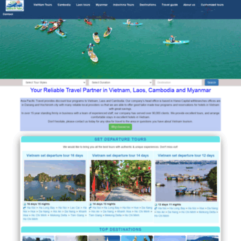 asiapacifictravel vn at WI  Travel to Vietnam, Vietnam Tours