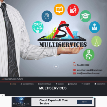 Asmultiservices.com thumbnail