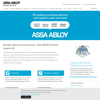 Assaabloyentrance.co.uk thumbnail