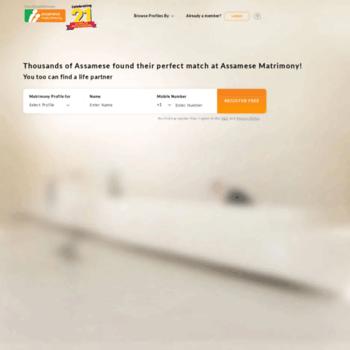 Assamesematrimony.com thumbnail